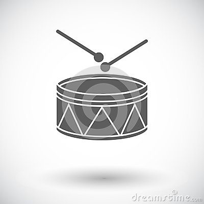 Free Drum Icon Stock Photography - 102847892