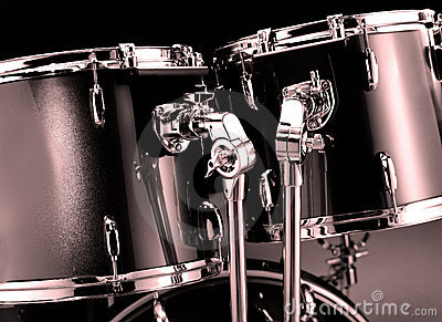Drum-kit closeup