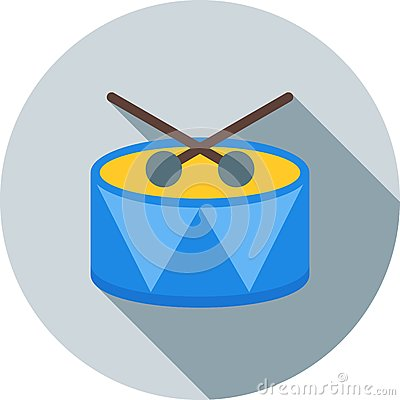 Drum Vector Illustration