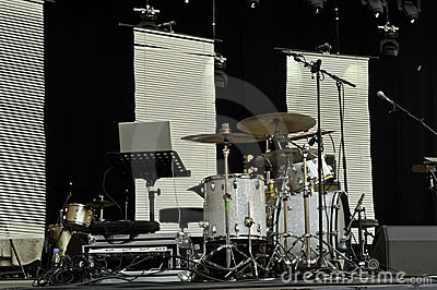 Drum Set Royalty Free Stock Photography - Image: 20457737