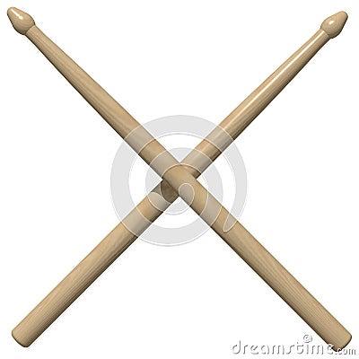 Drum Sticks Royalty Free Stock Photo - Image: 6811615
