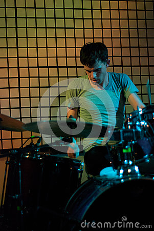 Drummer Editorial Image