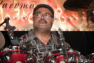 Drummer - Dennis Chambers Editorial Stock Photo