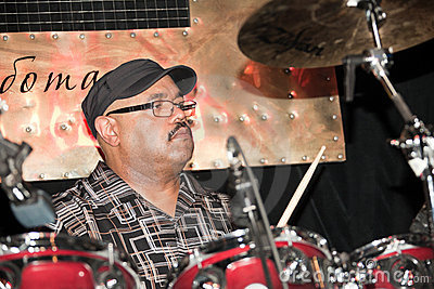 Drummer - Dennis Chambers Editorial Photo