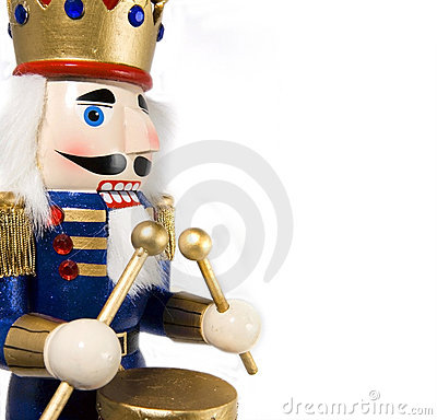 Free Drummer Nutcracker Royalty Free Stock Photography - 3114157