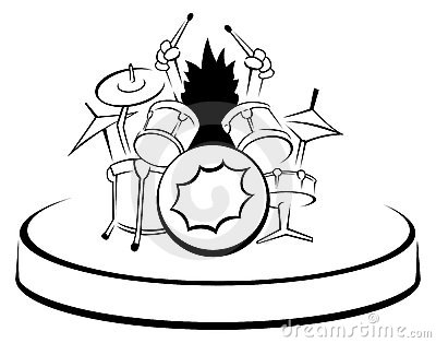Drummer Uncolored