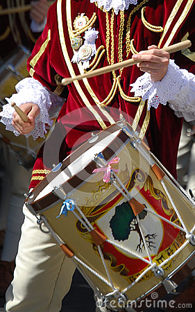 Free Drummers And Trumpeters Of Oristano Stock Photos - 85288593