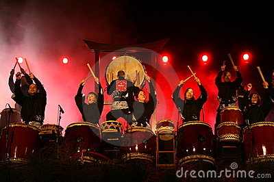 Drumming band Editorial Photography