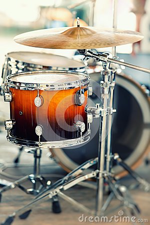 Free Drums Royalty Free Stock Image - 26747936