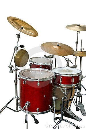 Free Drums Royalty Free Stock Photo - 8409585