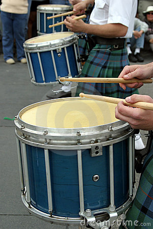 Free Drums At St Patrick S Parade Stock Images - 2109154