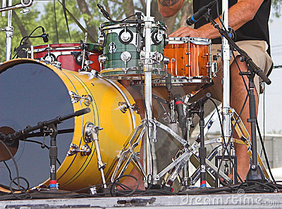 Drums at Outdoor Concert