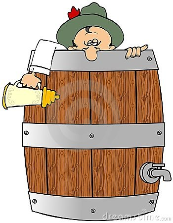 Drunk In A Barrel