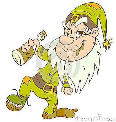 Drunk gnome