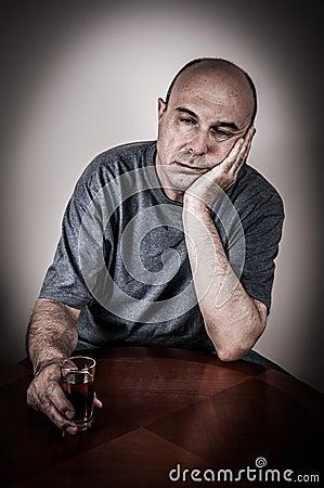 Free Drunk Man Stock Image - 55614231