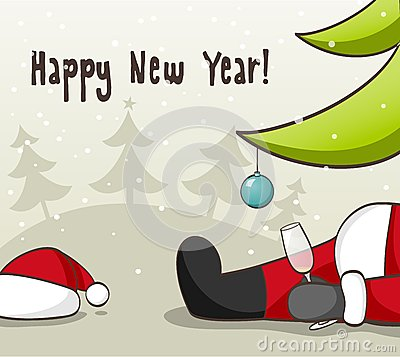 Drunk Santa Claus