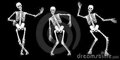 Drunk skeletons