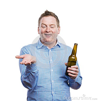 Free Drunk Young Man Stock Images - 50609834