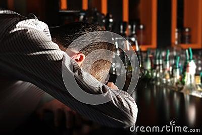 Drunken Man at the Bar