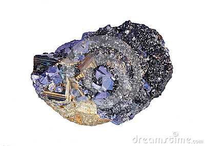 Druze de pyrites