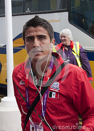 Dárvin Ramirez Mexico Olympic Football team Editorial Photography