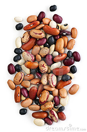 Free Dry Beans Royalty Free Stock Photo - 12369115