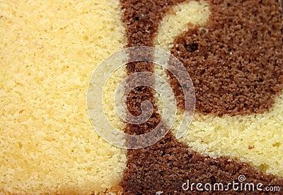 Dry cake texture