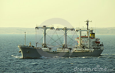 Dry cargo carrier ship
