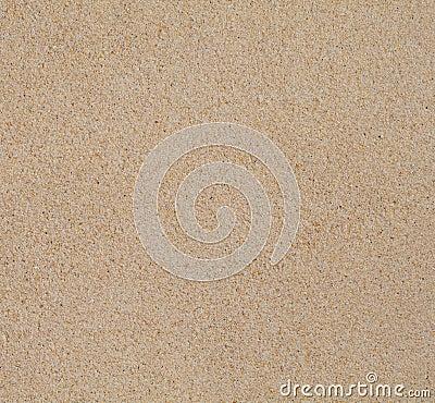 Dry clean beach sand texture