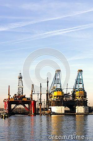 Free Dry Dock Stock Image - 4426921