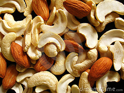Dry Fruits background