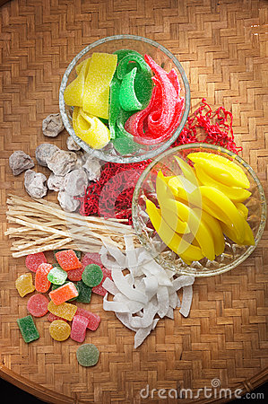 Dry Fruits and Candy
