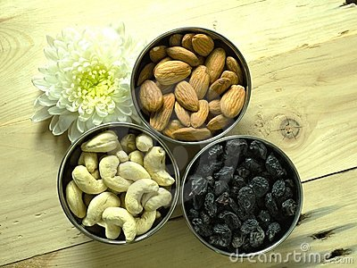 Dry fruits top look