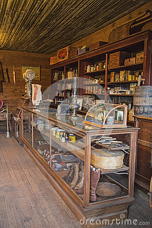 Dry Goods or General Store Editorial Stock Photo