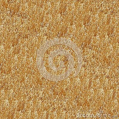Dry Grass Seamless Pattern
