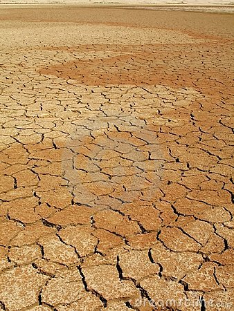 Free Dry Lake Bed Stock Photo - 4435750