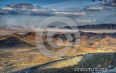 Dry Lake Dust