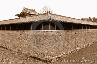 Dry moat-The Palace of Abstinence