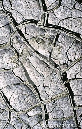 Dry mud Stock Photo
