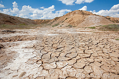 Dry out earth