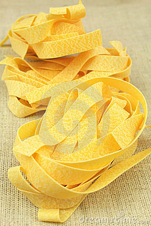 Free Dry Pasta Nests Stock Photography - 23328632