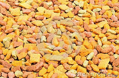 Dry pets food