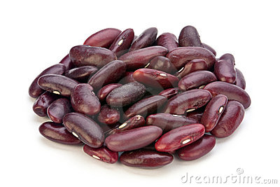 Dry purple bean