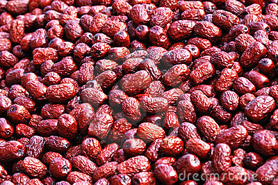 Dry red jujube
