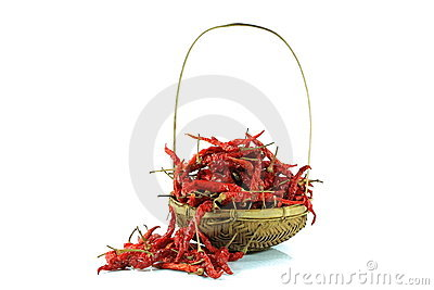 Dry red pepper