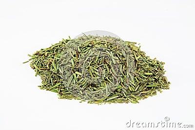 Dry Rosemary leaves.