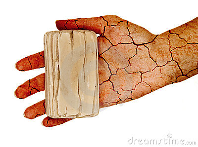Dry skin!