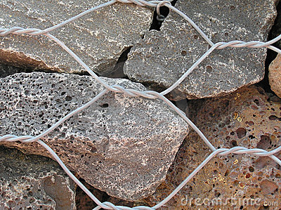 Dry Stone Wall Closeup