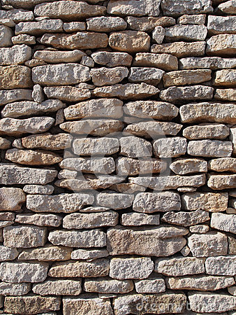 Dry stone wall, Corsica, France