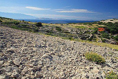 Dry stone wall Stara Baska